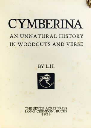Cymberina: An Unnatural History in Woodcuts and Verse.