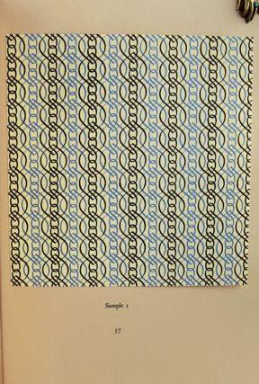 New Specimen Book of Curwen Pattern Papers.