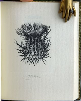 Twelve Woodengravings of Cirsia & Various Thistles with Sundry Notes Gathered, Engraved & Privately Printed for Gray Parrot.