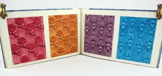 Roller-Printed Paste Papers for Bookbinding.