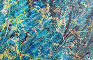 An Introduction to Carrageenan and Watercolor Marbling.