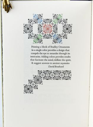 The Pentagram Press Commonplace Book: A Selection of Typographic Interpretations