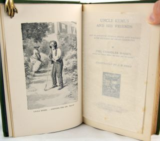 Uncle Remus and His Friends: Old Plantation Stories, Songs, and Ballads with Sketches of Negro Character.