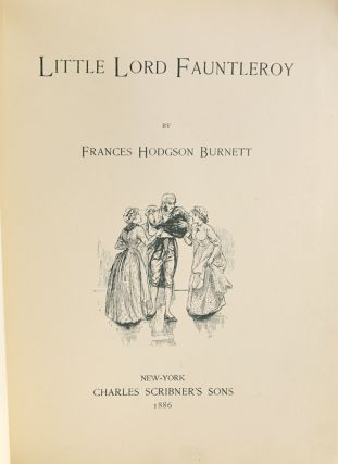 Little Lord Fauntleroy.