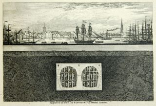 Sketches of the Works for the Tunnel under the Thames from Rotherhithe to Wapping.