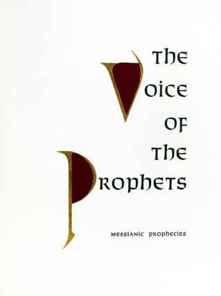 The Voice of the Prophets.