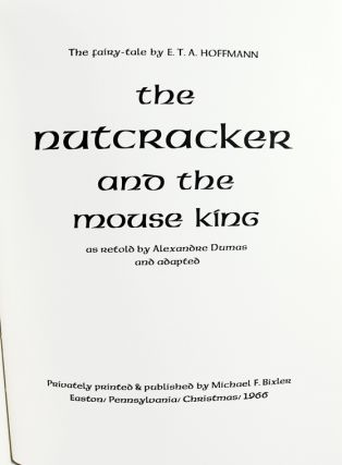 The Nutcracker and the Mouse King.