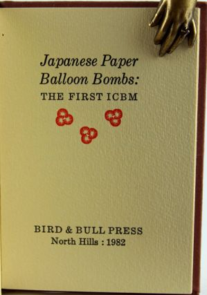 Japanese Paper Balloon Bombs: the First ICBM