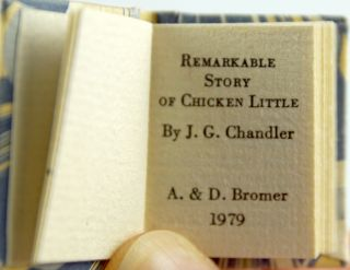 The Remarkable History of Chicken Little.