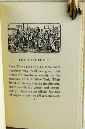 The Typophiles Whodunit: A Private Revelation of the Hitherto Most Mysterious Origin,...
