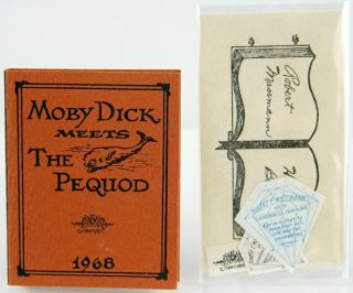 Moby Dick meets the Pequod. Herman Melville