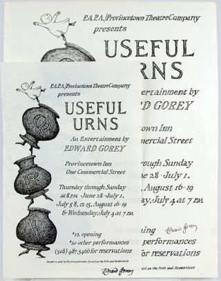 "Two Broadsides Advertising ""Useful Urns"""