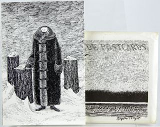 Alms for Oblivion Series: Dogear Wryde Postcards. Edward Gorey