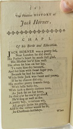 The Pleasant History of Jack Horner.