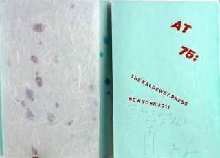 At 75: The Kaldewey Press