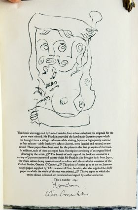 Blind Drawings: Examples of an Exercise Investigating the Objective/Subjective Principle of Graphic Art.