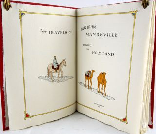 The Travels of Sir John Mandeville Beyond the Holy Land.
