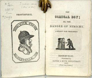 The Comical Boy; Or, the Danger of Mimicry. A Story for Children.