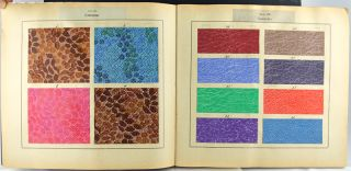 Sample book of Aschaffenberg papers.