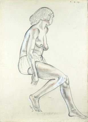 Seated Nude Looking Away