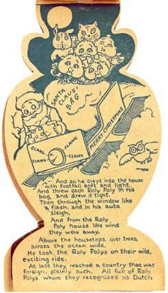 The Roly Poly's Dream, or, Around the World with Santa Claus.