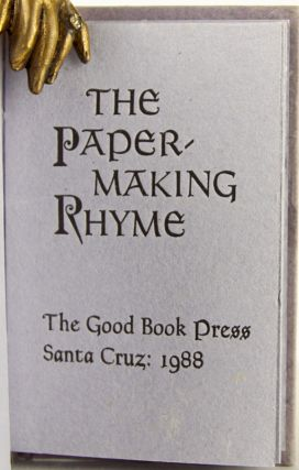 The Paper-Making Rhyme.