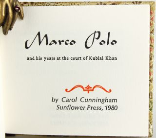 Marco Polo and His Years at the Court of Kublai Khan.