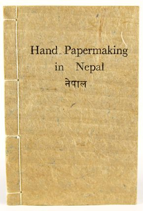 Hand Papermaking in Nepal.