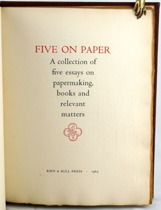 Five on Paper.