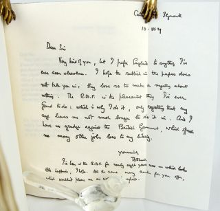 An Invitation to British Columbia: A Letter from T. E. Lawrence to Martin Allerdale Grainger.