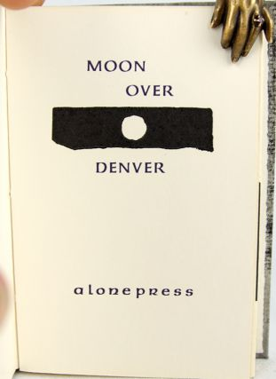 Moon over Denver.