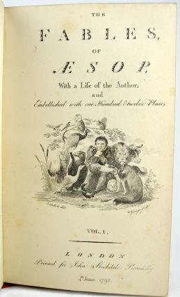 Fables by John Gay. Together with: The Fables of Aesop.