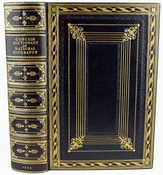 The Concise Dictionary of National Biography.