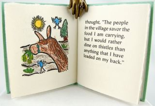 An Aesop's Fable: The Donkey & The Thistle.